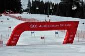 La manche française de l'Audi quattro Ski cup