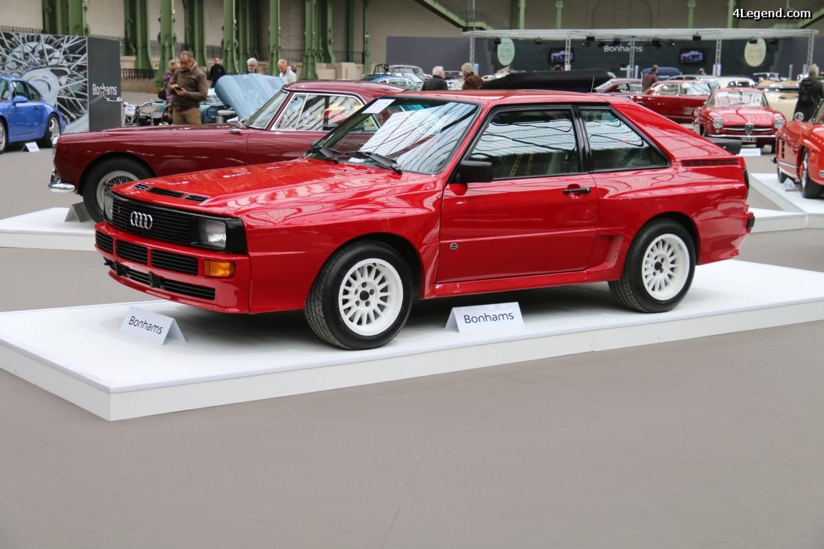 Bonhams Paris 2017 - Audi Sport quattro de 1985