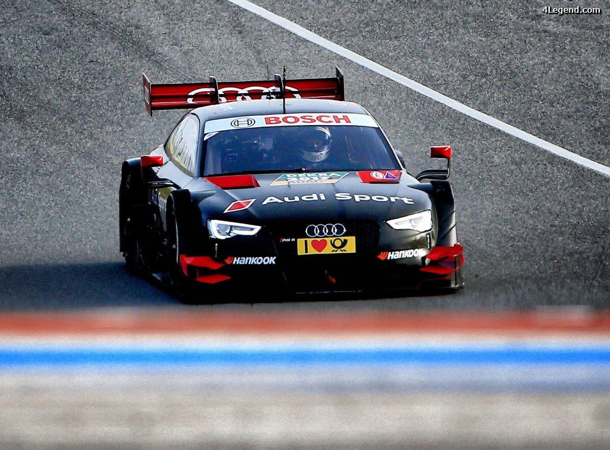 DTM - Derniers tests de la nouvelle Audi RS 5 DTM avant sa présentation à Genève