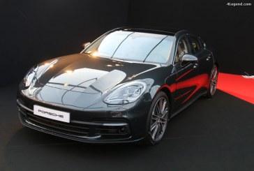 Festival Automobile International 2017 – Nouvelle Porsche Panamera à l'essai