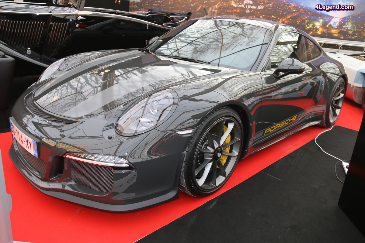 Festival Automobile International 2017 – Porsche 911 R en hommage à Steve McQueen