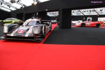 Festival Automobile International 2017 – Porsche célèbre sa dernière victoire aux 24 Heures du Mans avec les Porsche 919 Hybrid et 917 K