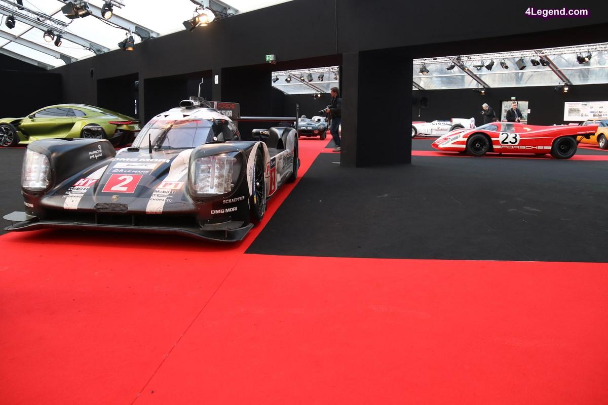 Festival Automobile International 2017 - Porsche célèbre sa dernière victoire aux 24 Heures du Mans avec les Porsche 919 Hybrid et 917 K