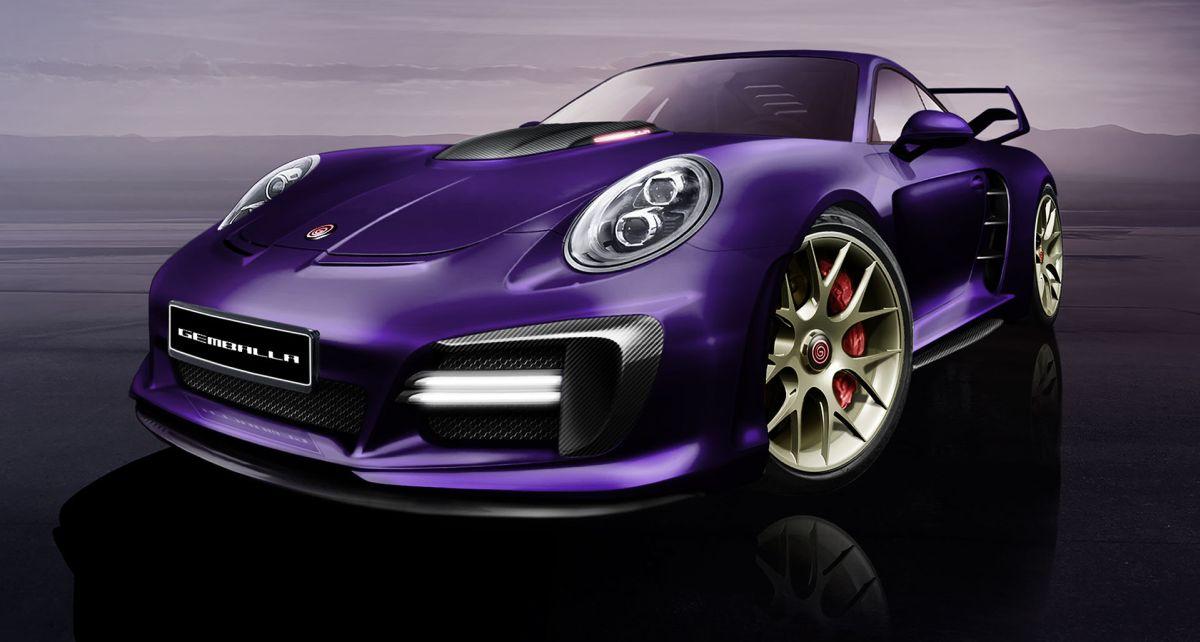 Gemballa Avalanche - La 3ème génération d'Avalanche basée sur la Porsche 911 Turbo