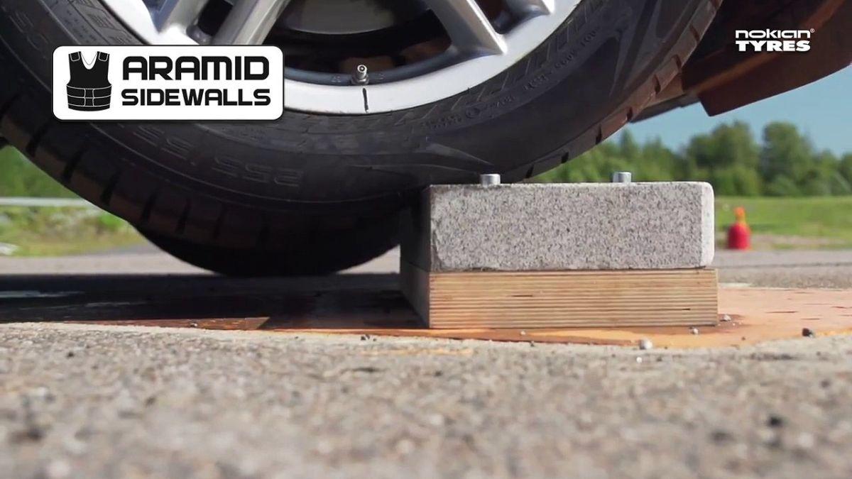 Nouvelles parois latérales renforcées en Aramid sur les pneus Nokian Tyres