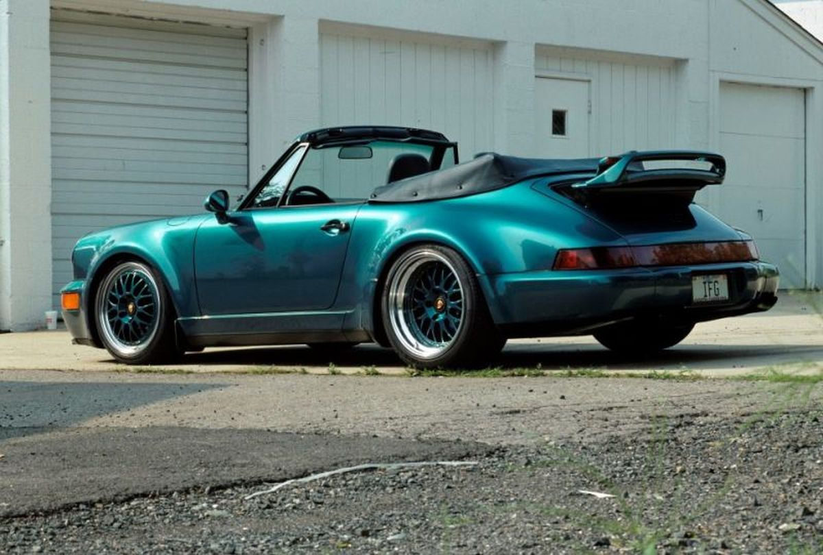 Porsche 911 America GS Roadster 3.8 Type 964 de 1993 avec hardtop - Un modèle unique by Porsche Exclusive