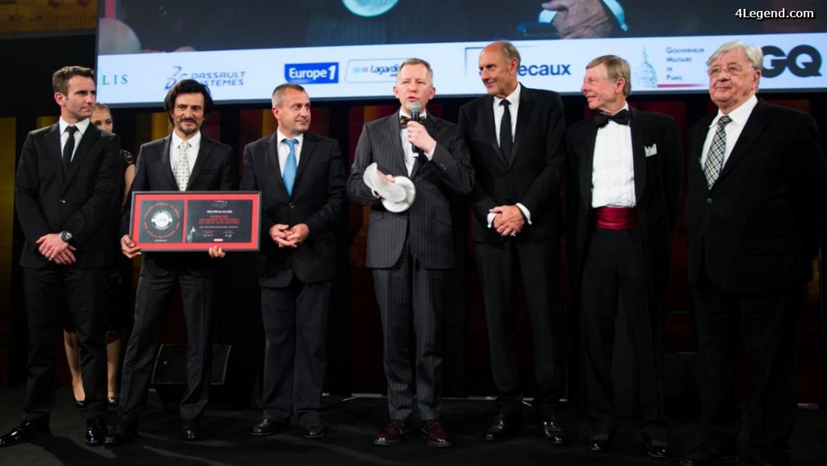 Festival Automobile International 2017 - Porsche a reçu un prix pour son record de victoires au Mans