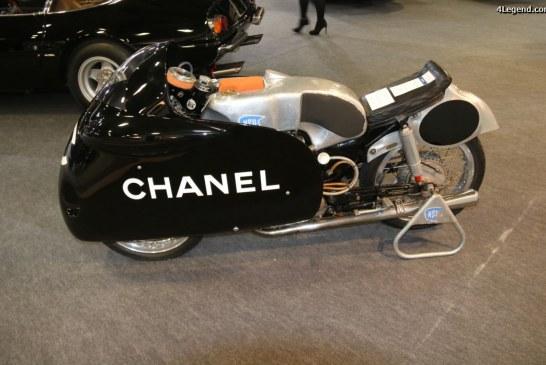 Rétromobile 2017 – Moto NSU Sportmax RS 251 de 1955