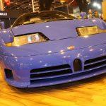 Rétromobile 2017 – Bugatti EB 110 GT de 1996
