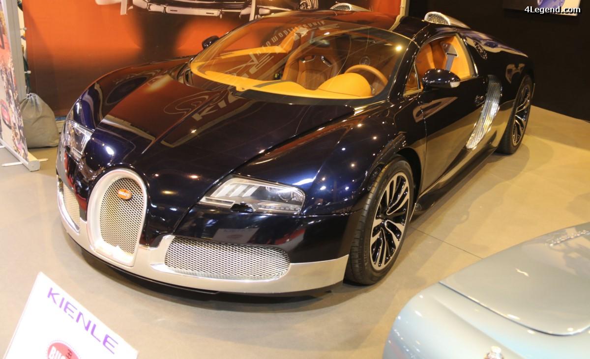 Rétromobile 2017 - Bugatti Veyron 16.4 Grand Sport