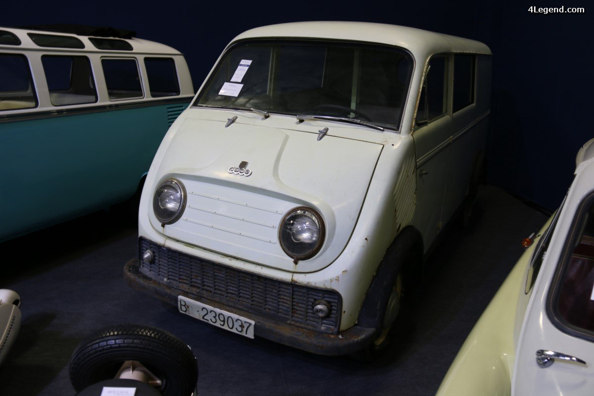 Rétromobile 2017 - DKW Schnellaster 800 S de 1961