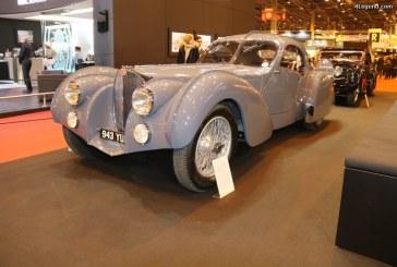 Rétromobile 2017 – Fabuleuse exposition de 13 Bugatti avec la Bugatti Type 57 S Atlantic