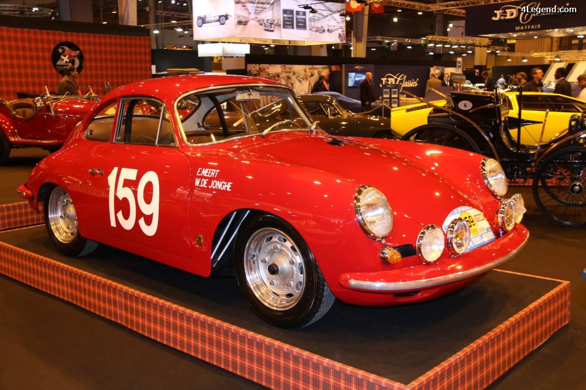 Rétromobile 2017 - Porsche 356 B Carrera 2 GT de 1963