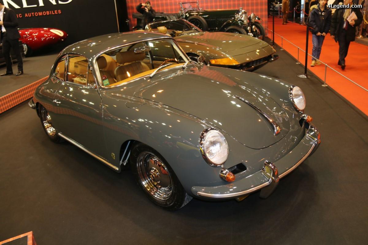 Rétromobile 2017 - Porsche 356 Carrera 2 de 1963