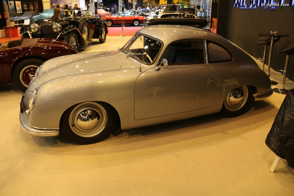 Rétromobile 2017 - Porsche 356 Coupé Pre A Split Window de 1950