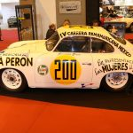 Rétromobile 2017 – Porsche 356 Pré A Panamericana «Evita Peron» de 1953