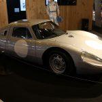 Rétromobile 2017 – Porsche 904 GTS n°034 de 1964 – L'un des véhicules laboratoires de Michelin