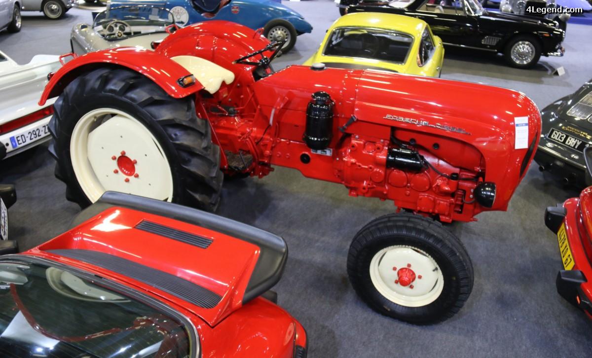 Rétromobile 2017 - Tracteur Porsche Diesel Super Export 329 de 1961