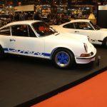 Rétromobile 2017 – Stand Porsche Serge Heitz avec des 911 et des 356