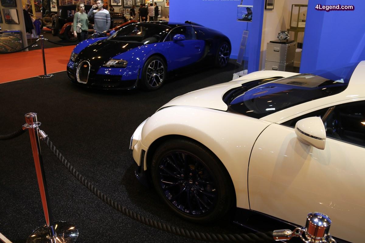 Rétromobile 2017 - Bugatti présente deux Veyron issues du programme « Bugatti Certified »