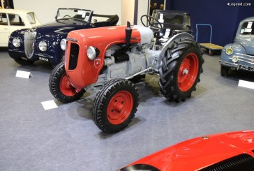 Rétromobile 2017 – Tracteur Lamborghini DL 25 N de 1954