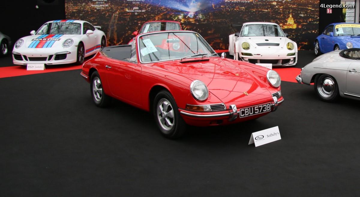 Porsche 901 Cabriolet de 1964 – RM Auctions – Sotheby's – Paris 2017