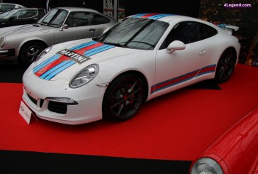 Porsche 911 Carrera S Martini Racing Edition de 2014 – RM Auctions – Sotheby's – Paris 2017