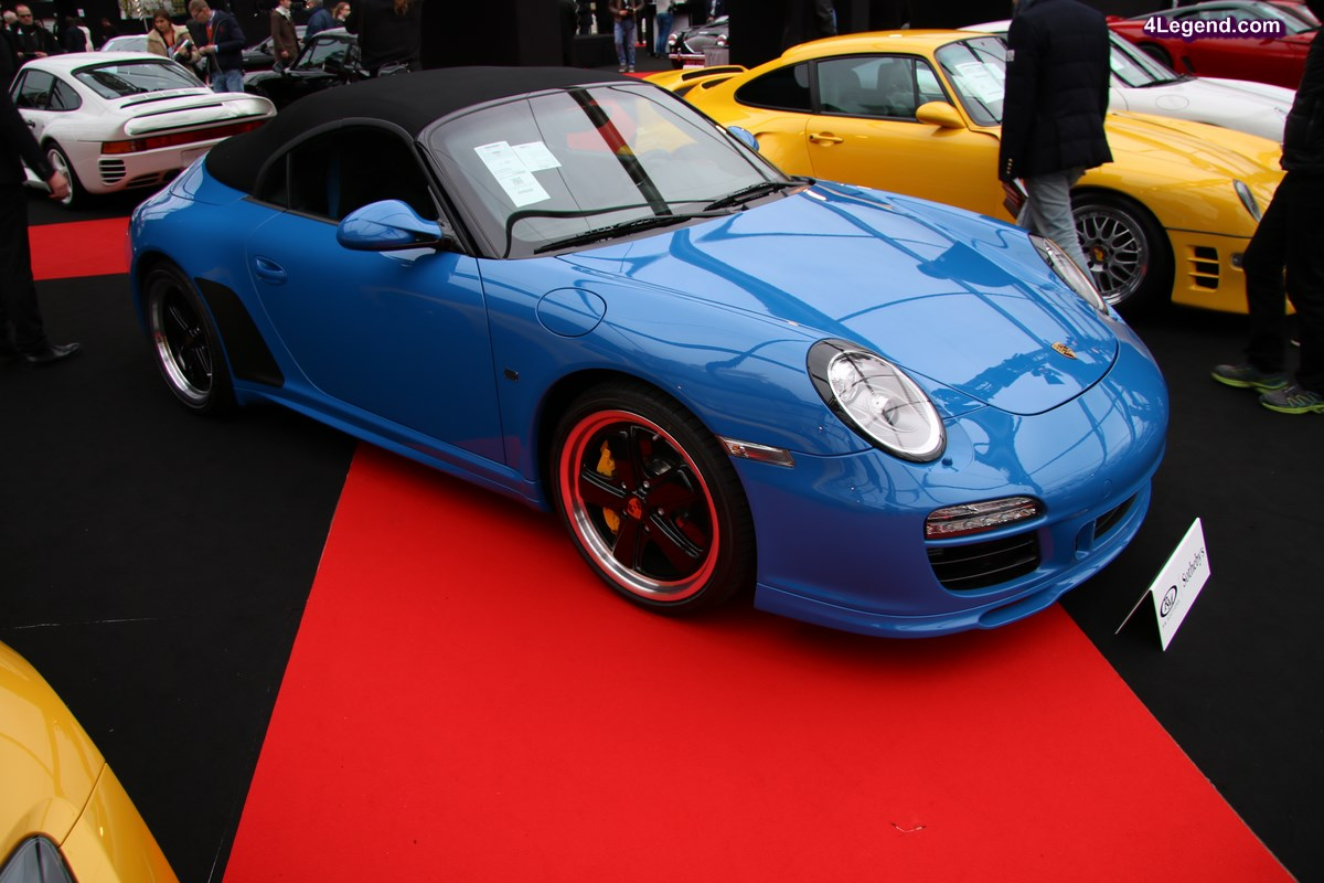 Porsche 911 Speedster Type 997 n°98 de 2010 – RM Auctions – Sotheby's – Paris 2017