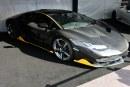 SIAM 2017 – Lamborghini Centenario Coupé & Huracan à Monaco