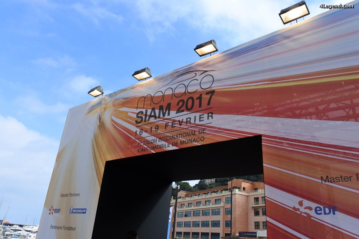 SIAM 2017 - Un nouveau concept de Salon de l'Automobile à Monaco
