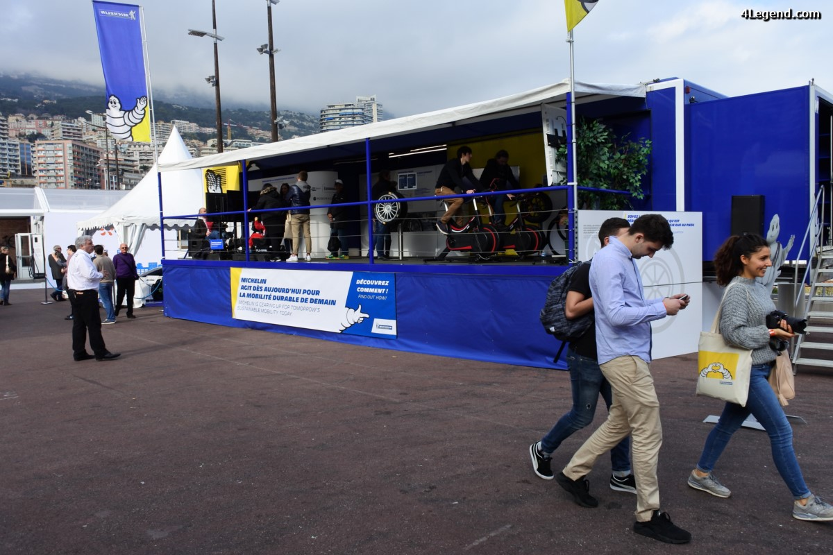 SIAM 2017 - Nouveaux pneus Michelin & Green GT H2 Speed