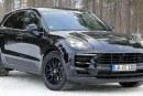 Spyshots Porsche Macan 2018 restylé en Laponie