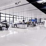 Visite au sein de l'atelier de production de la Bugatti Chiron à Molsheim