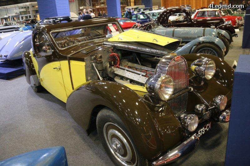 r tromobile 2017 bugatti type 57 atalante d couvrable de 1935. Black Bedroom Furniture Sets. Home Design Ideas
