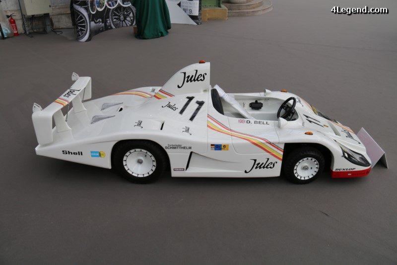 Voiture Pour Enfant Porsche 936 De 1981 224 L 233 Chelle 1 2