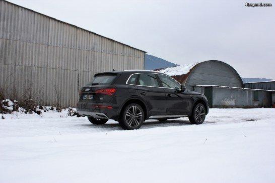 Essai Audi Q5 2.0 TFSI 252 chevaux.
