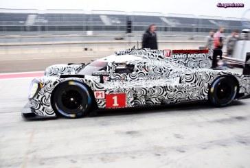 WEC – Premières photos, infos et essais de la nouvelle Porsche 919 Hybrid 2017 à Valence