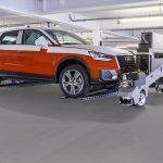 Audi remporte le prix VDA Logistics pour son robot de transport autonome de véhicules