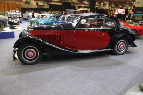 Rétromobile 2017 – Bugatti Type 57 coach Pre-Série Gangloff de 1934