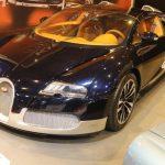 Rétromobile 2017 – Bugatti Veyron 16.4 Grand Sport «Soleil de Nuit» de 2011