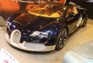 """Rétromobile 2017 – Bugatti Veyron 16.4 Grand Sport """"Soleil de Nuit"""" de 2011"""