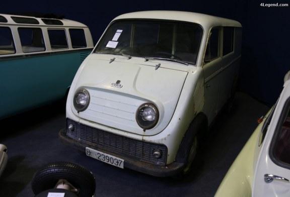 Rétromobile 2017 – DKW Schnellaster 800 S de 1961