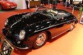 Rétromobile 2017 – Porsche 356 A 1600 Super Speedster de 1957 avec vitres latérales souples