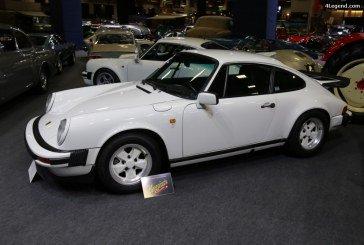 Rétromobile 2017 – Porsche 911 Carrera 3.2 Clubsport M637 de 1987 – Limitée à 350 exemplaires