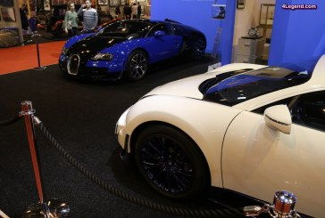 Rétromobile 2017 – Bugatti présente deux Veyron issues du programme « Bugatti Certified »