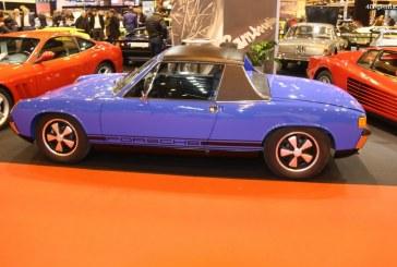 Rétromobile 2017 – Stand Jean Lain Vintage avec des Porsche et Lamborghini