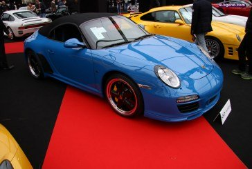 Porsche 911 Speedster Type 997 n°98 de 2010 – RM Auctions – Sotheby's – Paris 2017
