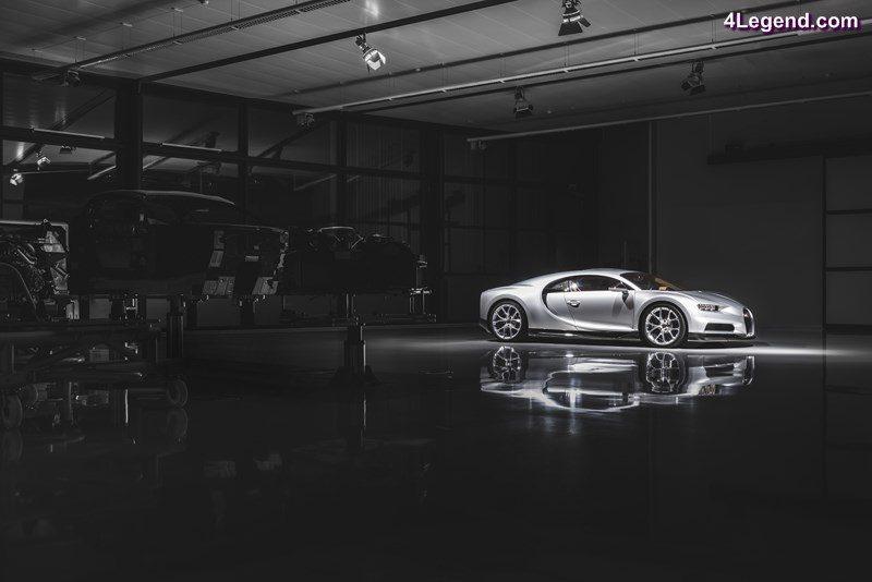 visite au sein de l'atelier de production de la bugatti chiron à