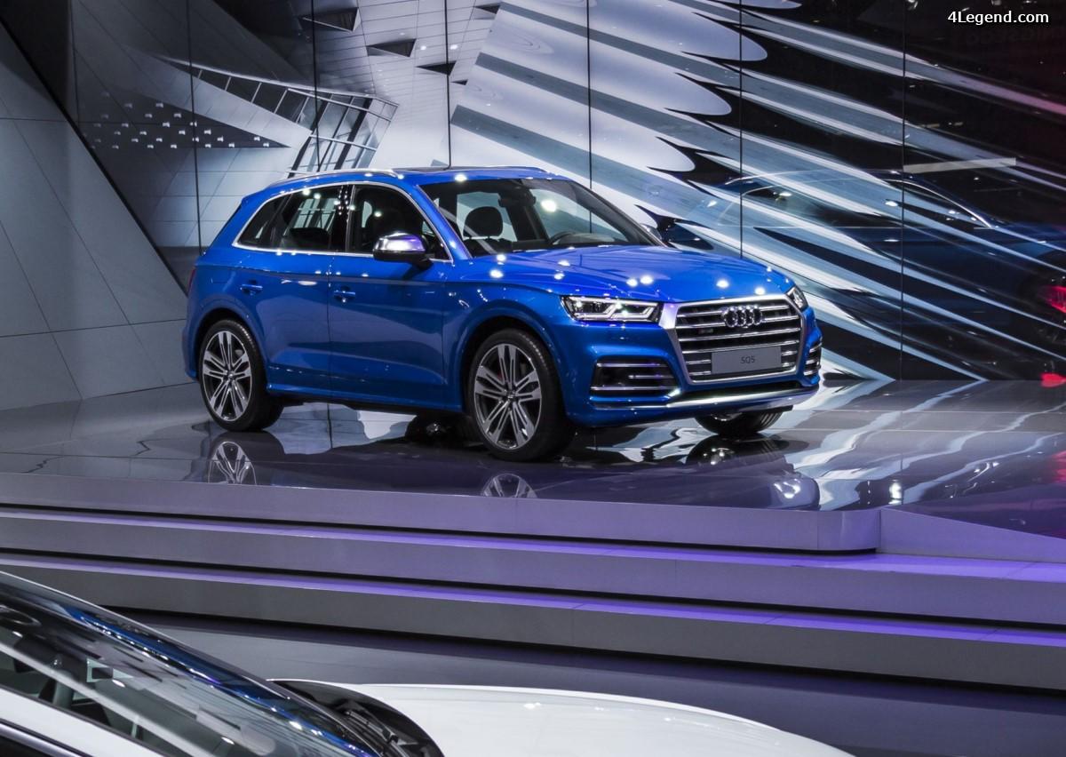 Genève 2017 - Audi SQ5 3.0 V6 TFSI : Du plastique au prix de l'or