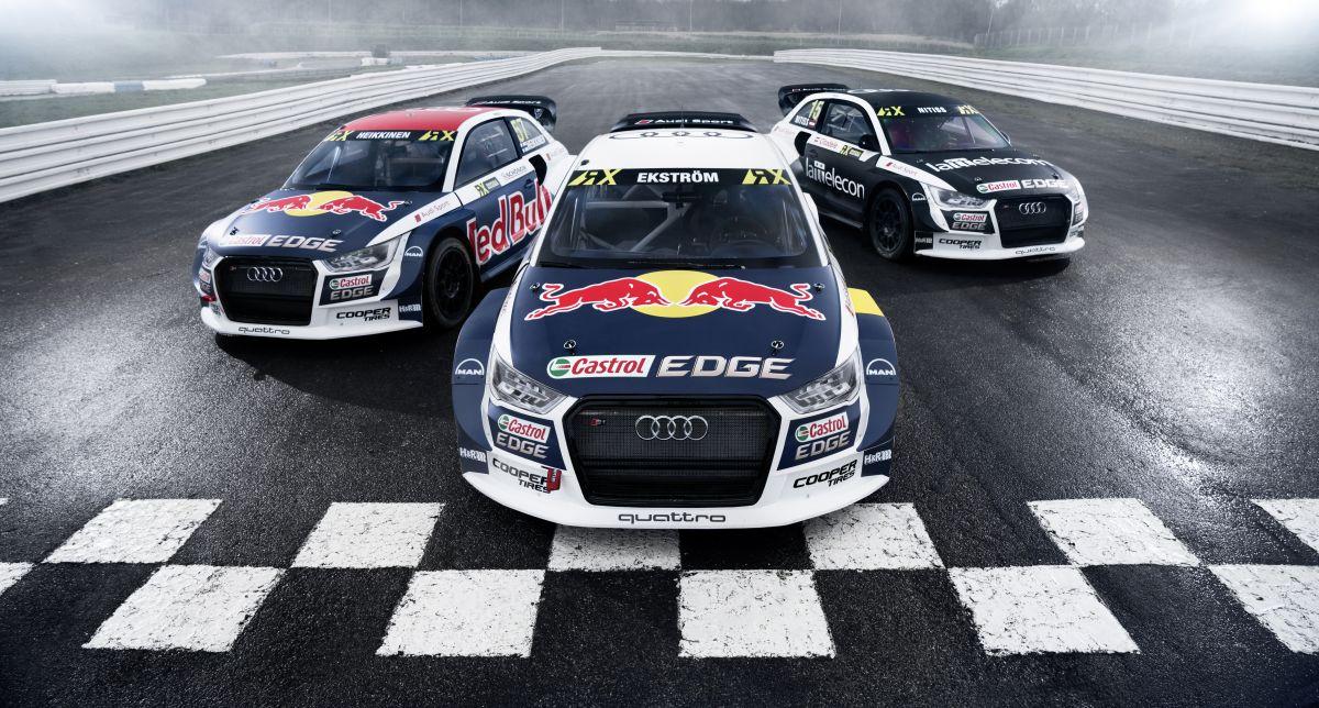 World RX - Présentation de nouvelles décorations des Audi S1 EKS RX quattro 2017